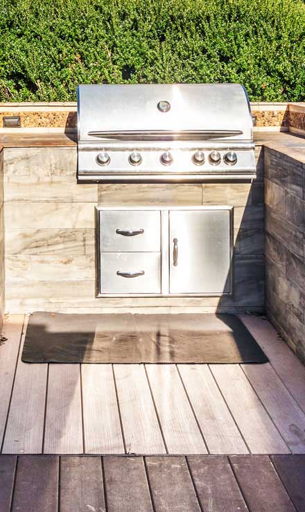 Luna Lawn Care Services Residential Outdoor Kitchen