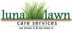 Luna Lawn Care Services Logo